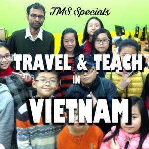 Travel & Teach in Vietnam